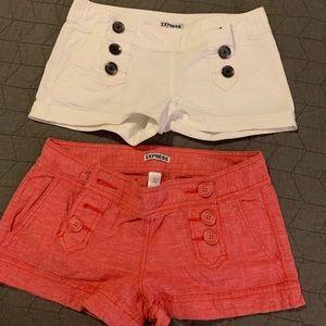 Pair of Express Shorts